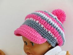 Taylor Newsboy Hat, Crochet Pattern for Him or Her, Sizes Ranging from Newborn to Woman