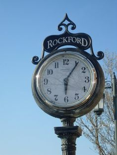 Rockford Clock Rockford City, Michigan