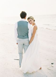 Lovely Amelia Island Wedding by the Sea | Unique Beach Wedding Ideas