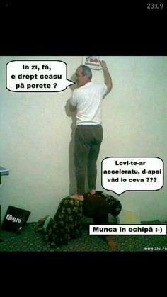 Munca in echipa la romani Funny Memes, Jokes, Cringe, Lol, Entertaining, Comics, Depressed, Romania, Beautiful