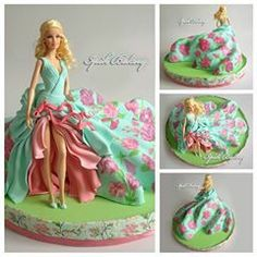 Barbie cake by ipoh bakery