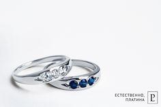 Изящные женские кольца из платины с сапфирами и бриллиантами от Platinum Lab созданы, чтобы вдохновлять. #ring #brilliant #rings #кольцо #сапфир   #jewelry #platinum #PlatinumLab #wedding #present #cute #diamond #jewellery #ювелирные украшения #сапфир #бриллиант