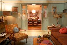Tv Decor, Room Decor, Sala Vintage, Desing Inspiration, Bg Design, Diy Casa, Interior Decorating, Interior Design, Retro Home