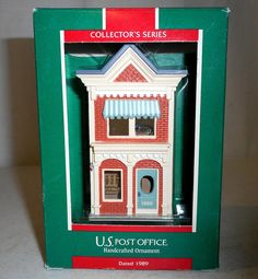 1989 Hallmark Ornament Nostalgic Houses and by honeyblossomstudio
