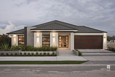 The Providence display home. #elevation #facade #house #VenturaHomes