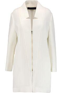 ROLAND MOURET Marah textured cotton-blend coat. #rolandmouret #cloth #coat