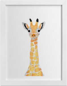 Are you looking for ideas to decorate a nursery or little one's space? We have the perfect collection of art prints to inspire a love animals in your child. See the full line by Cass Loh at minted.com