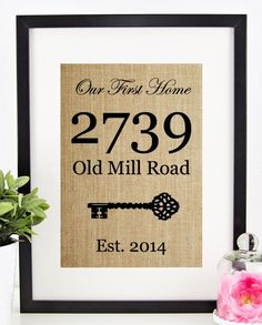 house quote print housewarming gift house blessing print new home