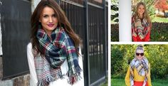 The seasons must have blanket scarves that are flying off our virtual shelves! These stunning oversized luxurious blanket scarves will surely keep you warm this season and stand out for a statement look. STYLES Autumn Tan and Red PlaidBrown and Yellow PlaidGray/Cream Stripe Navy and Green Double Layer Houndstooth/PlaidOrange and Blue Double Sided Houndstooth/PlaidDouble Layer Red/Black Houndstooth/PlaidPlum and Forest Green Plaid Double Sided HerringboneLayer with any look, you'll want to…