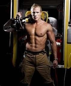 You were naked firefighter pin up