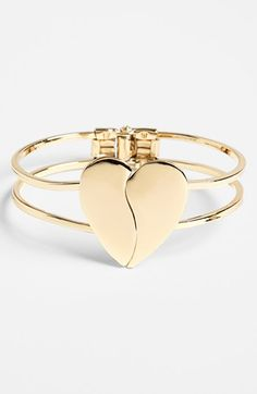 Broken heart bangle