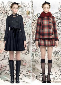 Red Valentino. They're all just too gorgeous.
