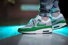 Patta x Nike Air Max 1 - Spring Green (by npwls_)