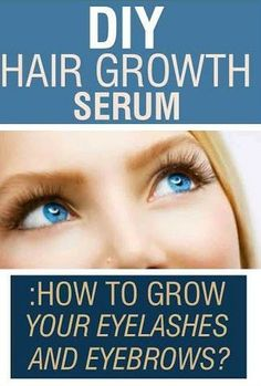 Every lady wants to have perfect eyebrows and long eyelashes. Today, let's look wonderful home recipe of how you can create DIY hair growth serum from the comfort of your own home.