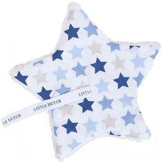 Little Dutch #doudou - fopspeendoekje - mixed stars blue #littledutch #baby #littlethingz2