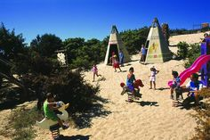 Red Indian camp for #kids during #holiday in #Sardinia. #travel #family #fun