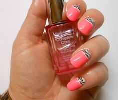 CherrySue, Doin' the Do: Easy Half Moon Mani - Using Clippers and Tape!