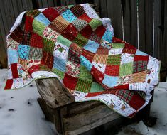 Hey, I found this really awesome Etsy listing at https://www.etsy.com/il-en/listing/223794483/christmas-lap-quilt-christmas-baking