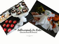 Ich zeige Euch wie Ihr einfache Gespenster Einladungen für die Halloweenparty für Kinder bastelt und welche tollen Snacks aufs Partybuffet gehören. Vanille Paste, Snacks, Halloween, Cards, Diy, Yogurt, Raspberries, Invitations, Appetizers