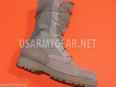 916d4d948231 Made in USA Military ACU Desert Tan Army Combat Flight Work Boots Suede  Vibram S