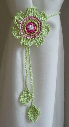 Watch The Video Splendid Crochet a Puff Flower Ideas. Wonderful Crochet a Puff Flower Ideas. Crochet Kitchen, Crochet Home, Love Crochet, Beautiful Crochet, Crochet Crafts, Yarn Crafts, Crochet Projects, Knit Crochet, Crochet Flower Patterns