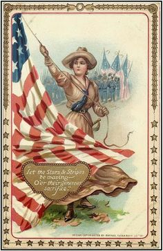 Little Birdie Blessings : Memorial Day ~ Decoration Day. Vintage Postcard