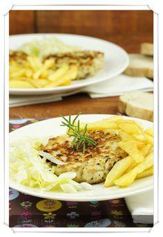 Mi dulce tentación: Hamburguesas de Pollo y Champiñones