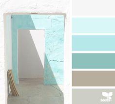 A Door Tones via @designseeds #seedscolor #color #colorpalette #color #palette #pallet #colour #colourpalette #design #seeds #designseeds