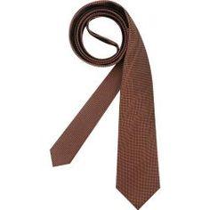 Olymp Krawatte Herren, orange Olymp