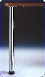 Peter Meier Zoom Table Legs in Brushed Steel (Sold Separately) *** For more information, visit image link.