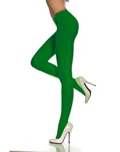 Green Tights for Poison Ivy costume