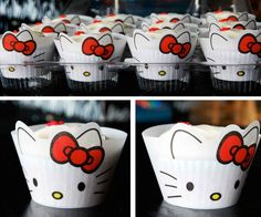 Super kawaii cupcake holders