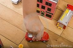 Kid playing with toy car on timber floor by Luis Fernandez, via Dreamstime Luis Fernandez, Timber Flooring, Children Images, Kids Playing, Childhood, Home Appliances, Toy, Entertaining, Stock Photos