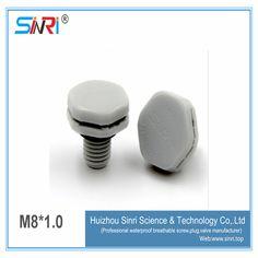 Sinri supply M8*1.0 waterproof air vents Pressure balance valve breathable screw Bolt