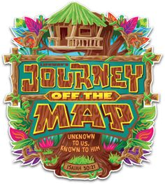 Journey Off the Map Font Styles