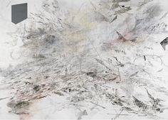 "gibsondeis: "" Julie Mehretu, ""Atlantic Wall,"" 2008-09, ink and acrylic on canvas """