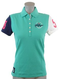 Tommy Hilfiger Women Classic Fit Logo Polo Shirt $49.99