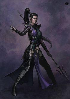 Aenerion's Dark Elves of Karond Kar.  loserstudio.blogspot.com