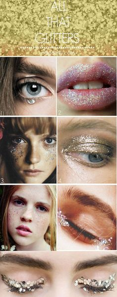 All that glitters: A DDG moodboard full of sparkly stuff - dropdeadgorgeousdaily.com