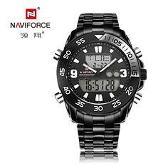 $36.35 (Buy here: https://alitems.com/g/1e8d114494ebda23ff8b16525dc3e8/?i=5&ulp=https%3A%2F%2Fwww.aliexpress.com%2Fitem%2FNAVIFORCE-fashion-LED-Analog-digital-watch-men-stainless-steel-Army-military-Sport-quartz-wristwatches-male-relogio%2F32696625687.html ) NAVIFORCE fashion LED Analog-digital watch men stainless steel Army military Sport quartz wristwatches male relogio masculino for just $36.35