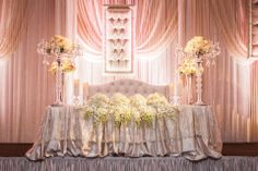 Lush head table ... mississaugaconvention.com