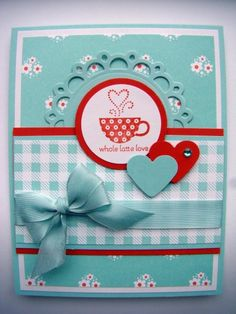 Whole Latte Love by Sue Robertson - Cards and Paper Crafts at Splitcoaststampers