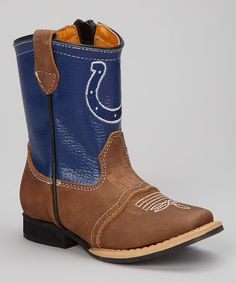 Old Pro Leather Goods Co. Indianapolis Colts Flyover Cowboy Boot ...