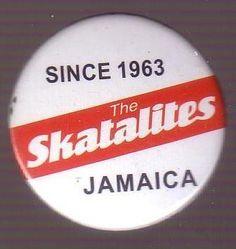 Button - Skatalites, Jamaica - Since 1963