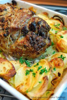a needle in the soup: Baked roast pork – Foods Baked Roast, Pork Roast, Pork Recipes, Turkey, Menu, Soup, Baking, Mandoline, Foods