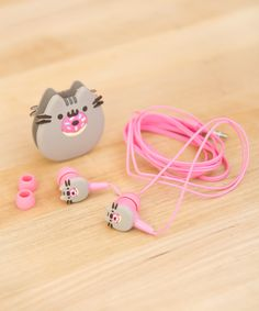 Pusheen Donut Earbuds need these!!!!