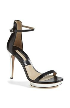Michael Kors Leather Sandal available at #Nordstrom