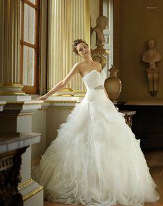Pronovias Benicarlo Dress - LOVE! #wedding #dress
