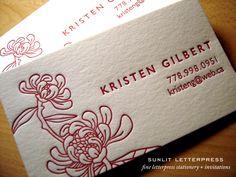 SUNLIT LETTERPRESS | Fine Letterpress Stationery & Custom Letterpress Invitations | Vancouver | Canada