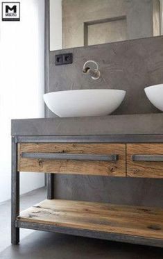 small bathroom storage ideas is categorically important for your home. Whether you choose the serene bathroom or serene bathroom, you will create the best wayfair bathroom for your own life. Serene Bathroom, Wood Bathroom, Bathroom Furniture, Bathroom Interior, Bathroom Storage, Bathroom Ideas, Bathroom Vanities, Rustic Furniture, Modern Furniture